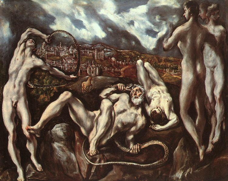 El Greco Laocoon 1 Germany oil painting art