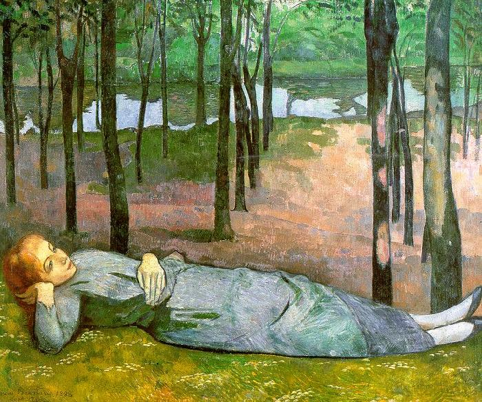 Emile Bernard Madeleine in the Bois d'Amour oil painting image