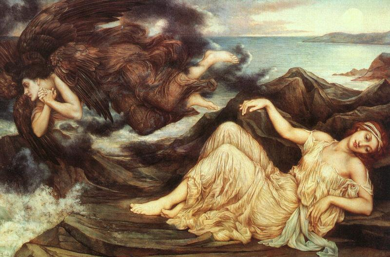 Evelyn De Morgan Port After Stormy Seas oil painting image