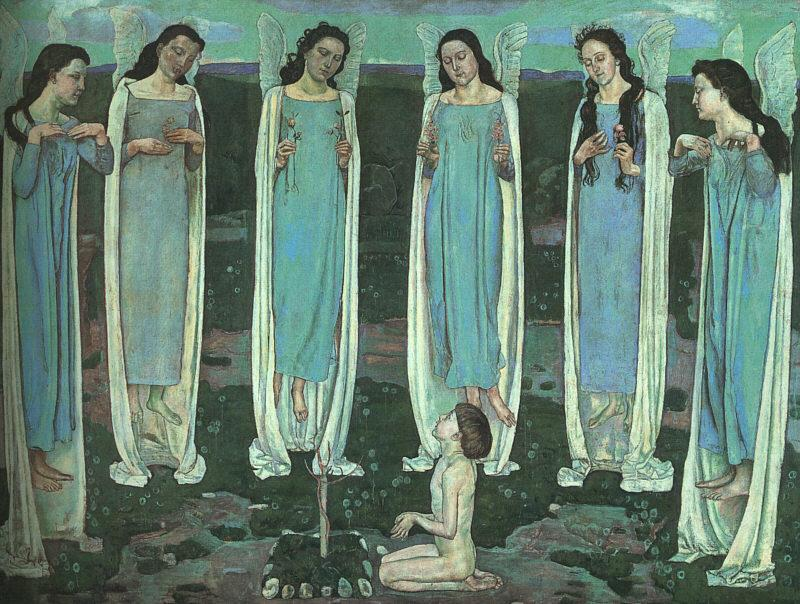 Ferdinand Hodler The Chosen One oil painting image