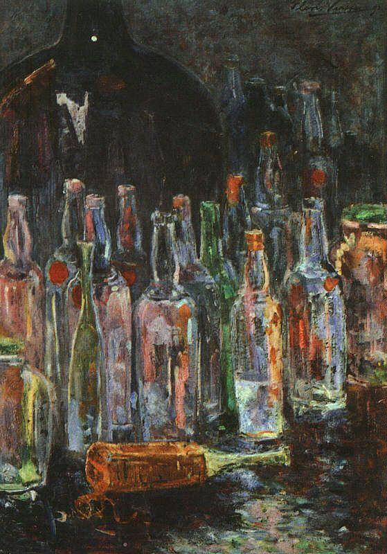Floris Verster Still Life with Bottles oil painting image