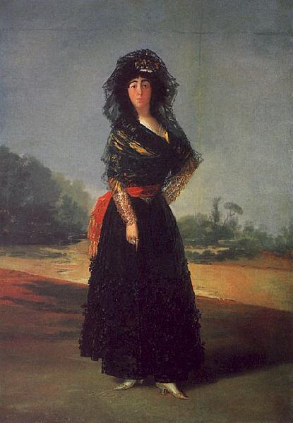 Francisco de Goya Portrait of the Duchess of Alba oil painting picture