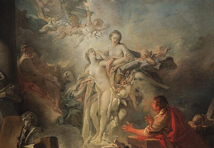 Francois Boucher Pygmalion and Galatea Germany oil painting art