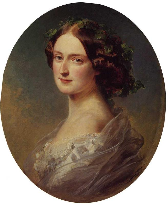 Franz Xaver Winterhalter Lady Clementina Augusta Wellington Child-Villiers oil painting image