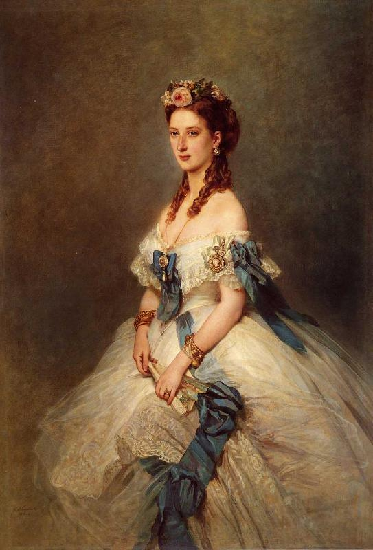 Franz Xaver Winterhalter Alexandra, Princess of Wales oil painting image