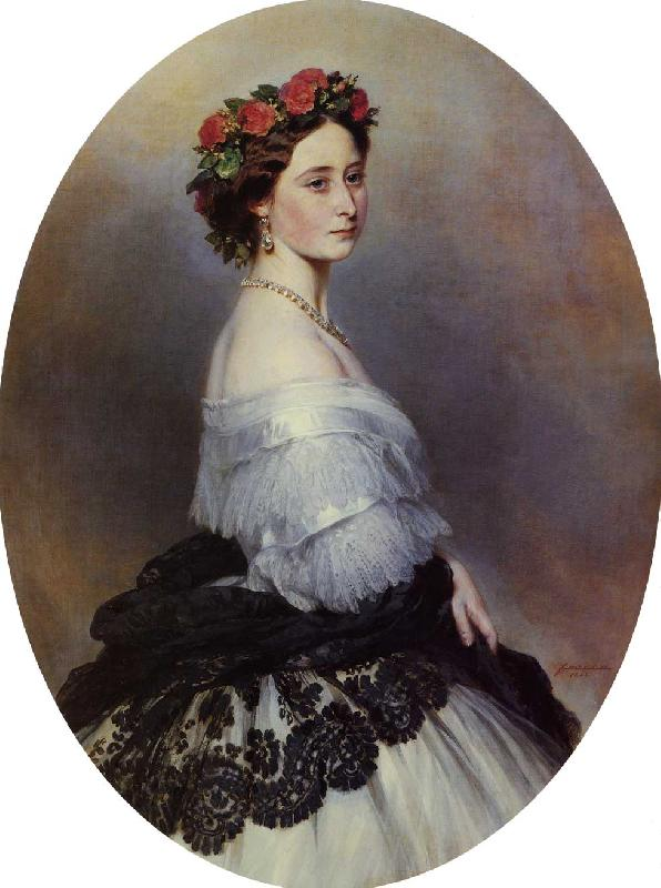Franz Xaver Winterhalter Princess Alice oil painting image