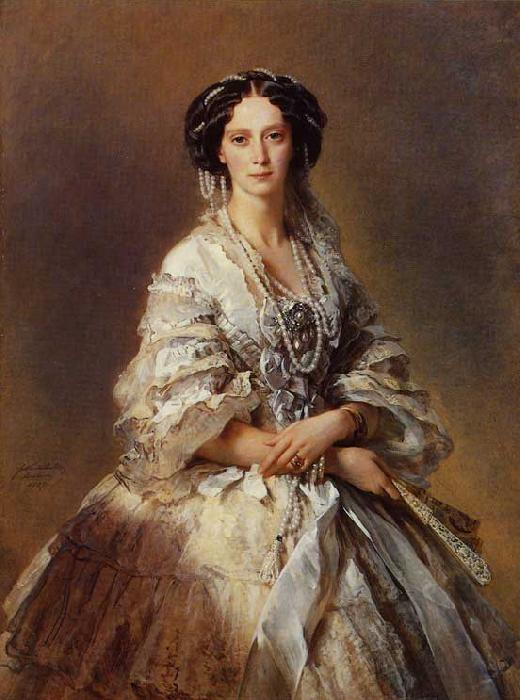 Franz Xaver Winterhalter The Empress Maria Alexandrovna of Russia oil painting image