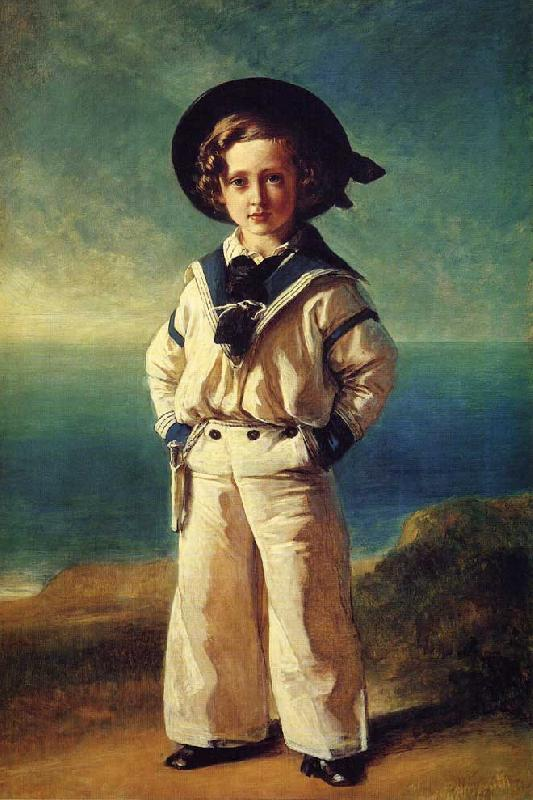 Franz Xaver Winterhalter Albert Edward, Prince of Wales oil painting image