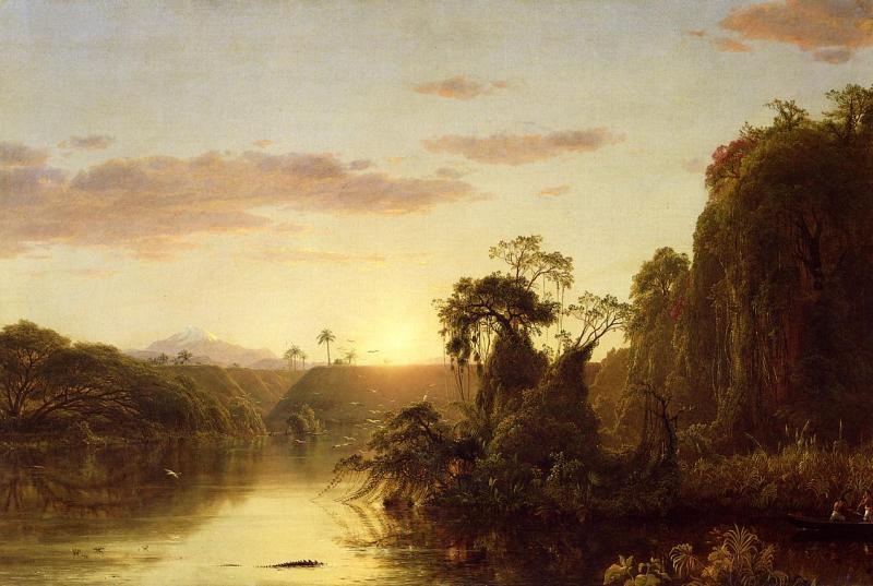 Frederic Edwin Church La Magdalena oil painting image