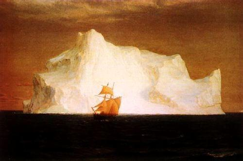 Frederick Edwin Church The Iceberg Germany oil painting art