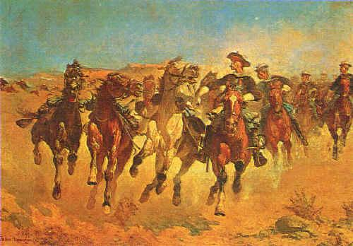 Frederick Remington Dismounted Germany oil painting art