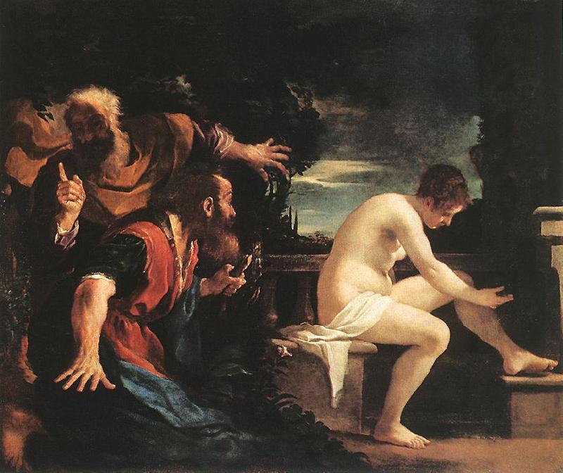 GUERCINO Susanna and the Elders kyh oil painting image