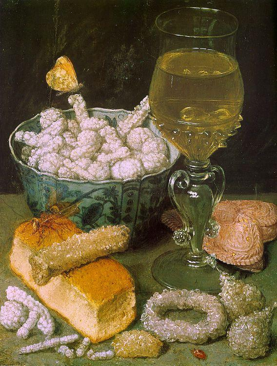 Georg Flegel Still Life with Bread and Confectionery 7 oil painting image