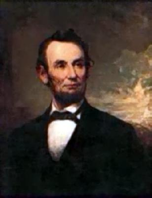 George H Story Abraham Lincoln Germany oil painting art