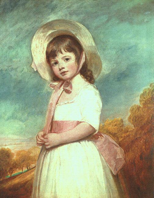 George Romney Miss Willoughby Germany oil painting art