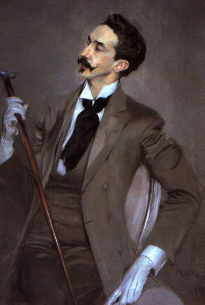 Giovanni Boldini Count Robert de Montesquiou oil painting image
