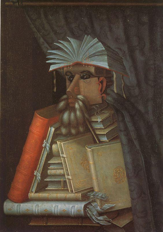 Giuseppe Arcimboldo The Librarian oil painting image