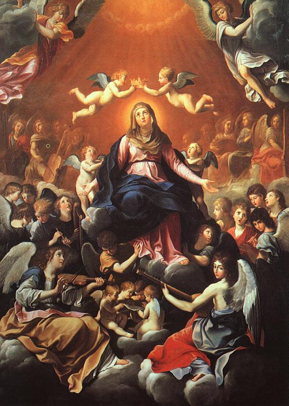 Guido Reni The Coronation of the Virgin Germany oil painting art