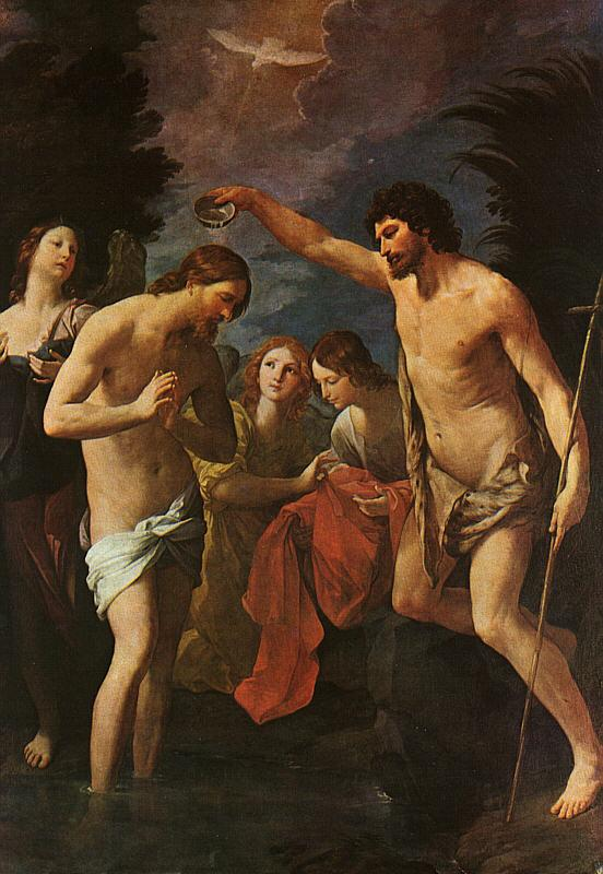 Guido Reni Baptism of Christ Germany oil painting art