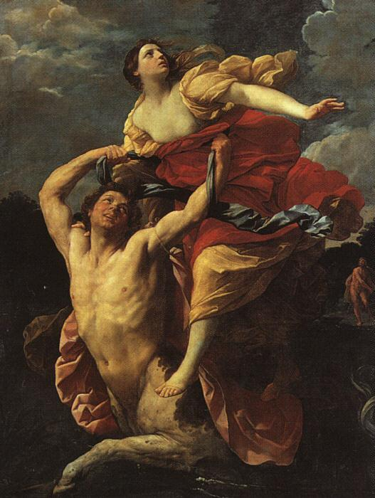 Guido Reni Deianeira Abducted by the Centaur Nessus Germany oil painting art
