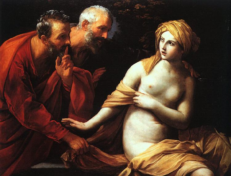 Guido Reni Susannah and the Elders Germany oil painting art