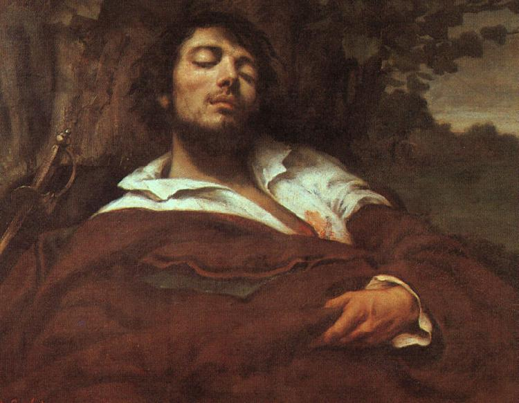 Gustave Courbet The Wounded Man oil painting image