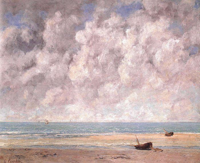 Gustave Courbet The Calm Sea oil painting image