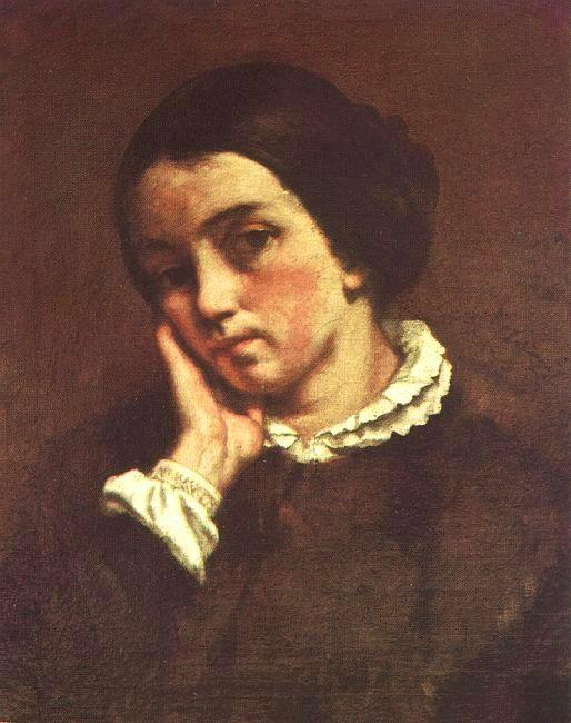 Gustave Courbet Juliette Courbet oil painting image