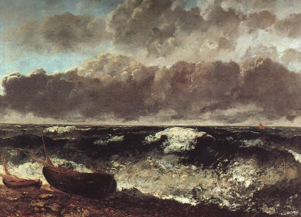 Gustave Courbet The Wave oil painting image