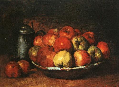 Gustave Courbet Still Life with Apples and Pomegranates oil painting image