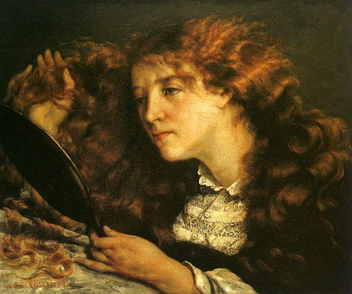 Gustave Courbet Portrait of Jo oil painting image