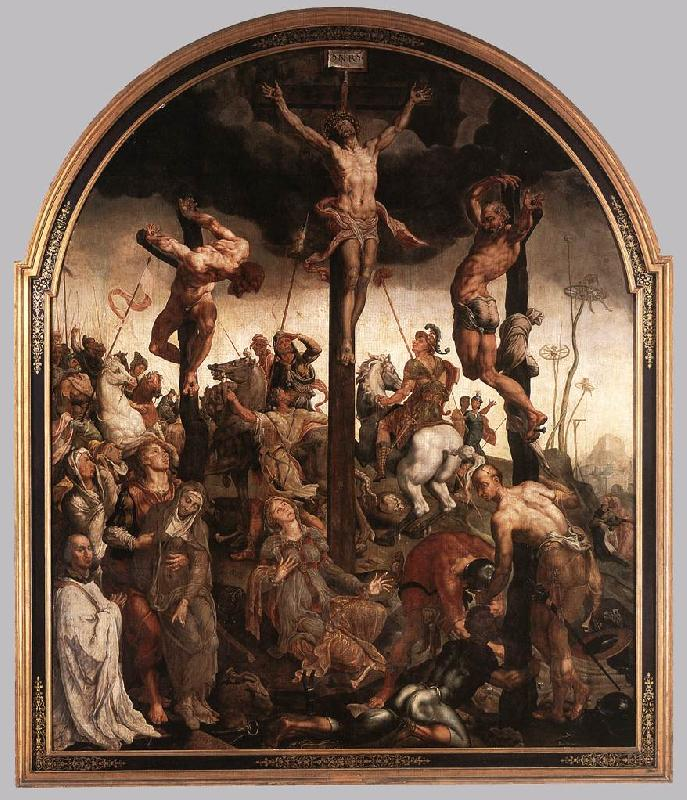 HEEMSKERCK, Maerten van The Crucifixion sg oil painting image