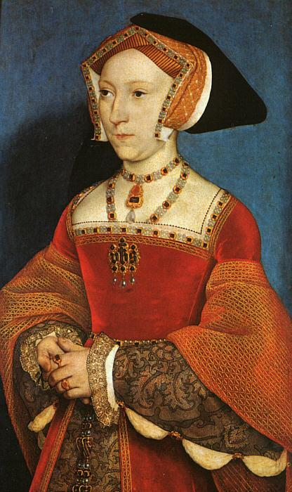 Hans Holbein Portrait of Jane Seymour oil painting image