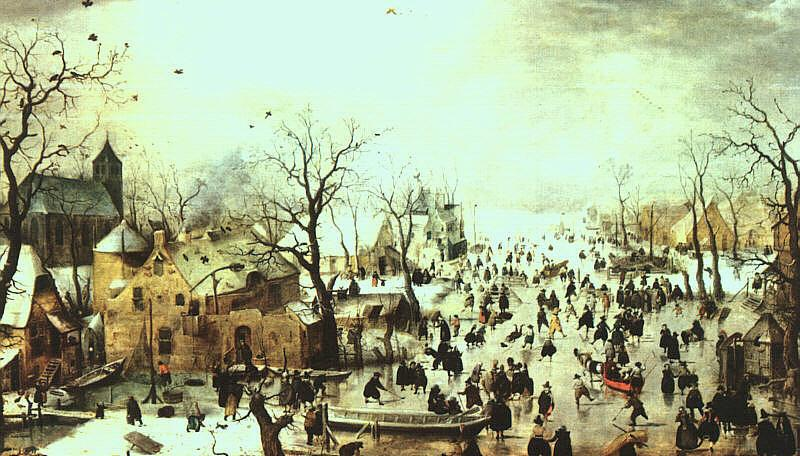 Hendrick Avercamp Winter Landscape Germany oil painting art