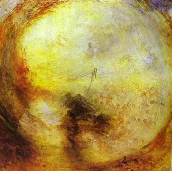 J.M.W. Turner Light and Colour Morning after the Deluge - Moses Writing the Book of Genesis. oil painting image