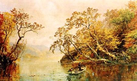 Jasper Cropsey Seclusion Germany oil painting art