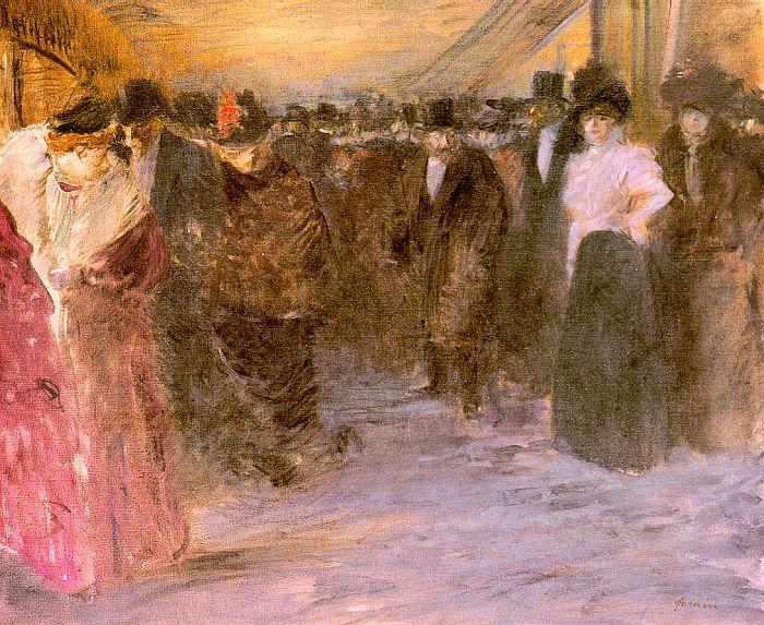 Jean-Louis Forain Music Hall oil painting image