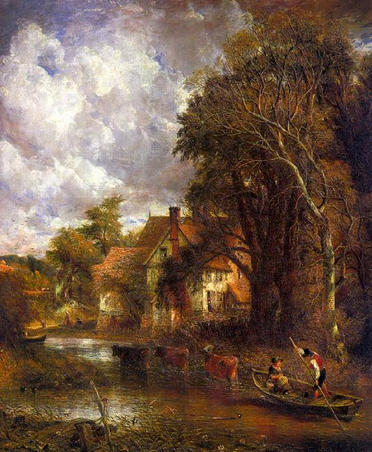 John Constable The Valley Farm oil painting image