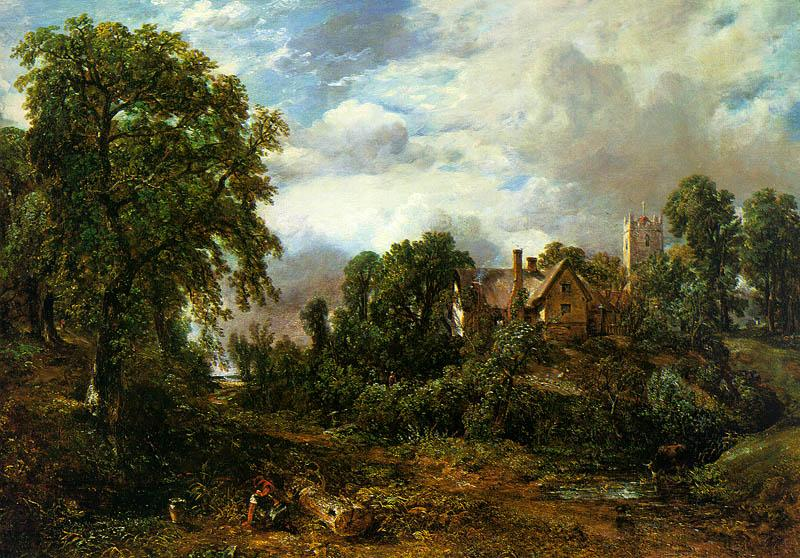 John Constable The Glebe Farm oil painting image