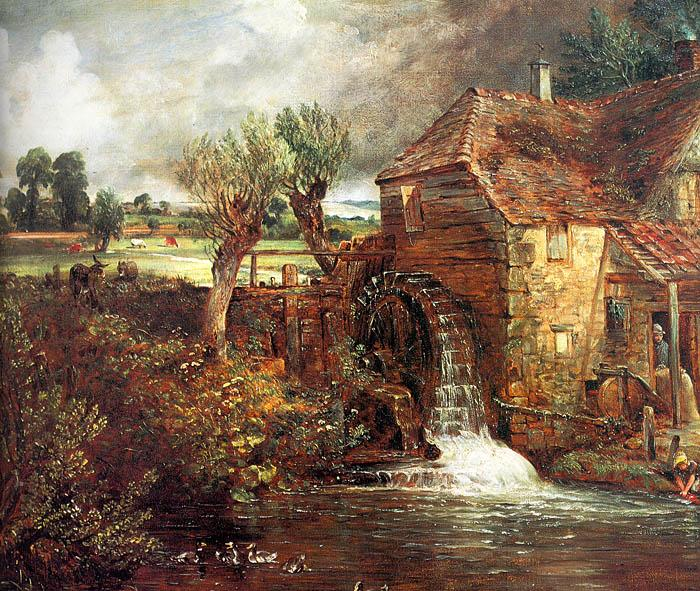 John Constable Parham Mill at Gillingham oil painting image