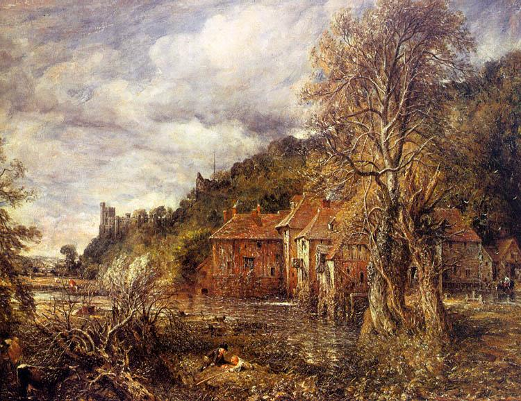 John Constable Arundel Mill and Castle oil painting image