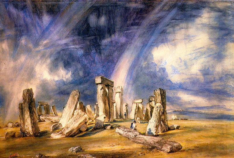 John Constable Stonehenge oil painting image