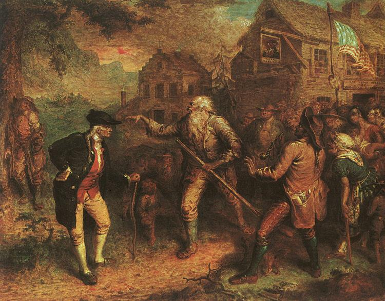 John Quidor The Return of Rip van Winkle oil painting picture