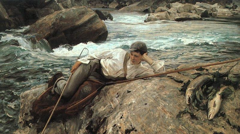 John Singer Sargent On His Holidays Germany oil painting art
