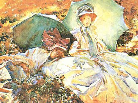 John Singer Sargent Green Parasol Germany oil painting art