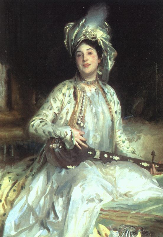 John Singer Sargent Almina, Daughter of Asher Wertheimer Germany oil painting art