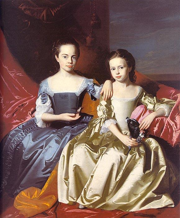 John Singleton Copley Mary MacIntosh Royall and Elizabeth Royall Germany oil painting art