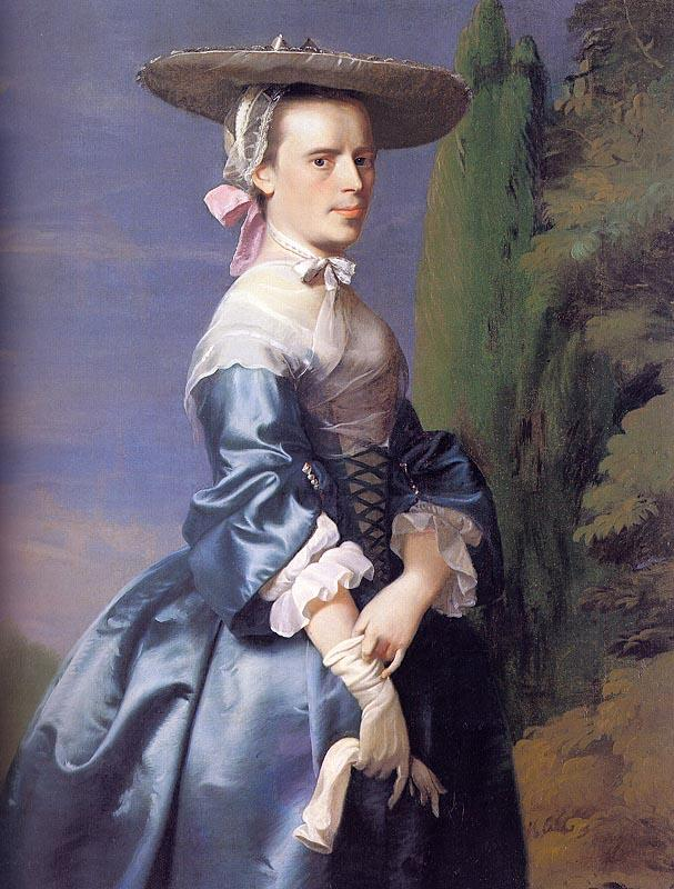 John Singleton Copley Mrs Nathaniel Allen Germany oil painting art