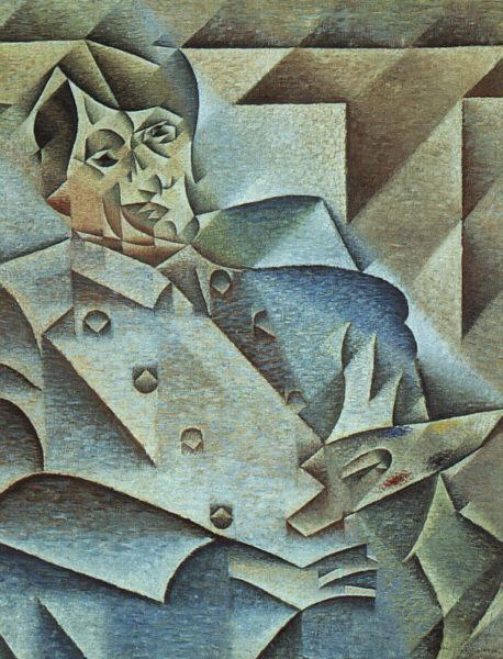 Juan Gris Portrait of Pablo Picasso oil painting image