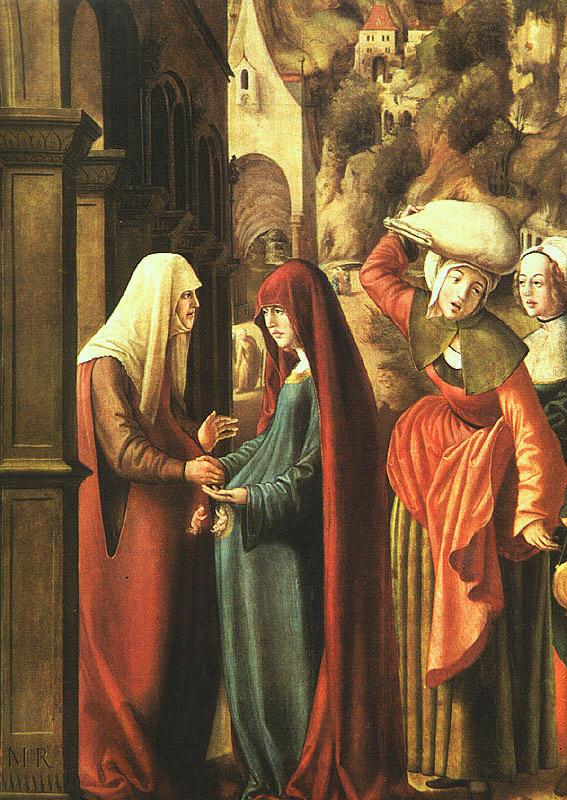 Marx Reichlich The Visitation Germany oil painting art